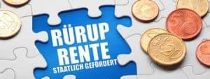 Rürup Rente Steuervorteil Aachen Versicherungsmakler
